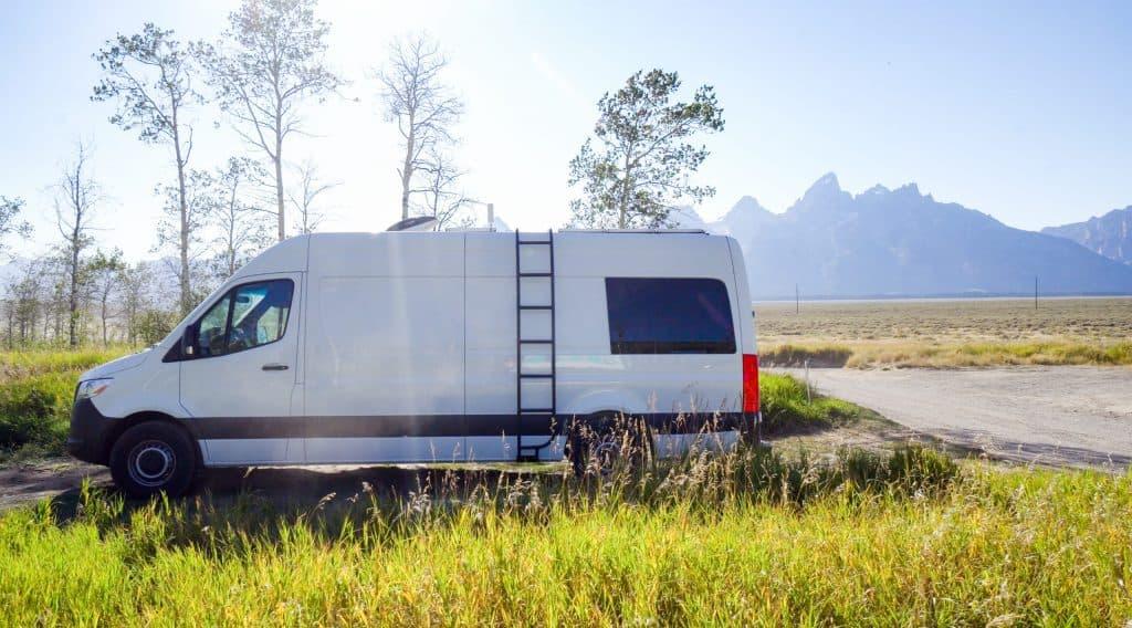 Boondocking in Antelope Flats, Wyoming