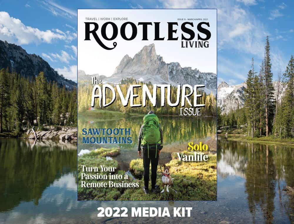 Rootless Living Media Kit 2022