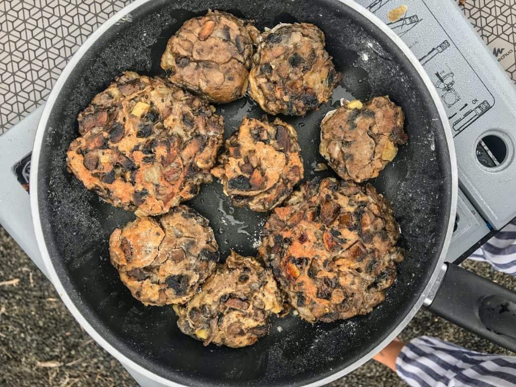 Tender and Hearty Meatless Mushroom Meatballs