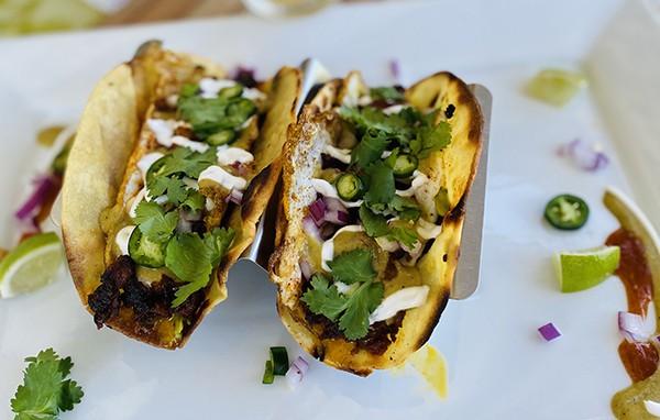 Fiesta Breakfast Tacos