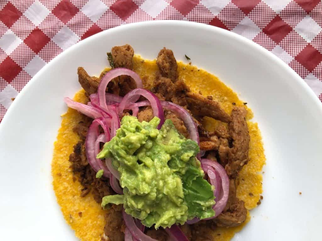 Soy Curl Street Tacos